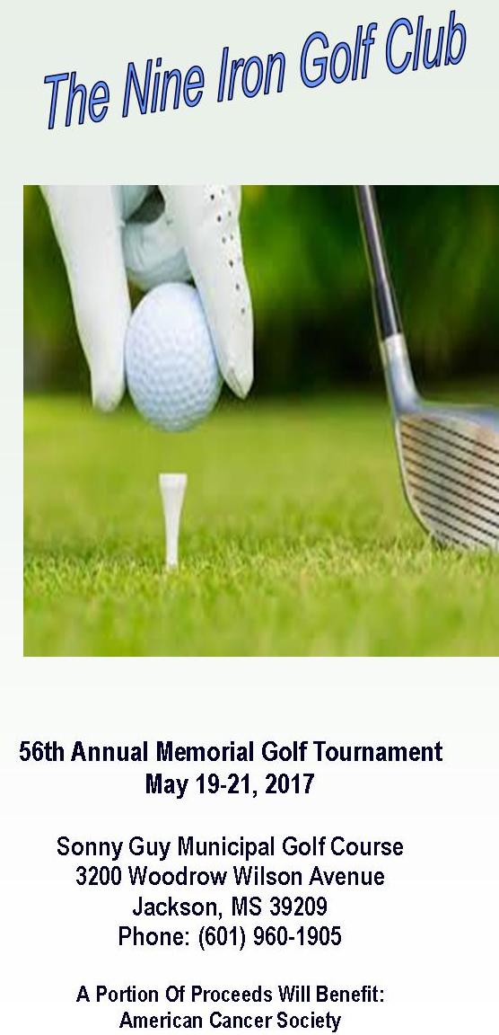Nine Iron Golf Association Jackson MS